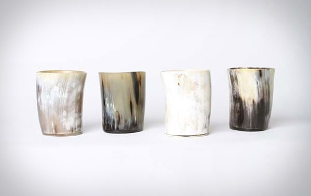 Horn Whiskey Tumblers
