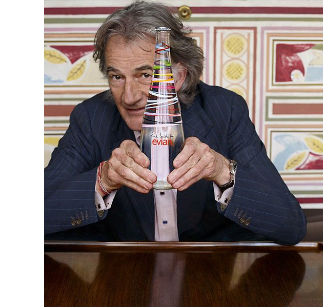 напитки, Paul Smith, Evian, Paul Smith for Evian, дизайн