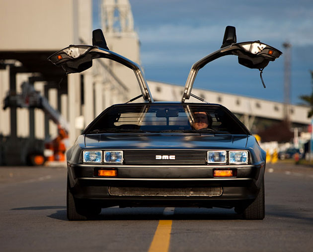 Electric DeLorean DMC-12 EV