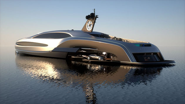 Gray Design Sovereign Yacht