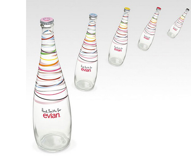 напитки, Paul Smith, Evian, Paul Smith for Evian, дизайн, Paul Smith, Evian, Paul Smith for Evian