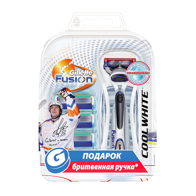 Gillette Fusion Cool White