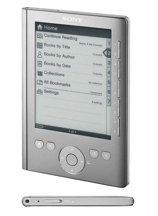 Sony Reader Pocket Edition (PRS-300), гаджеты, букридеры, Sony, Sony Reader Pocket, Sony Reader Touch