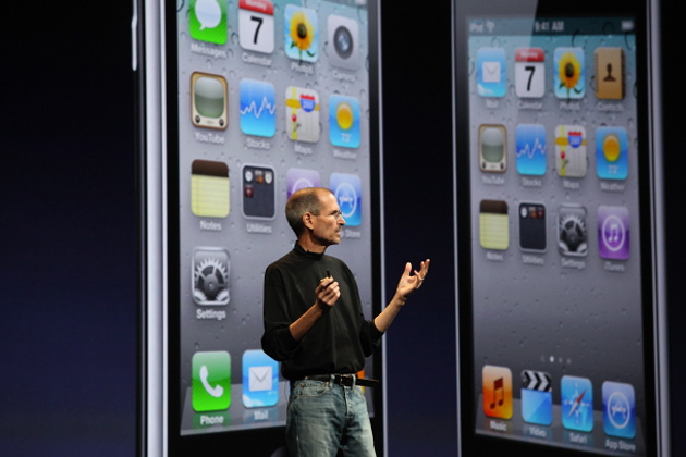 Apple iPhone 4, Стив Джобс, Steve Jobs