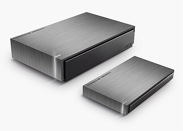 LaCie & Porsche Design Hard Drives