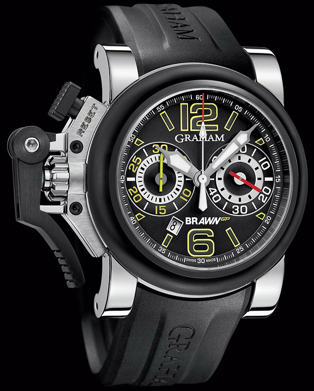 Chronofighter Oversize G-BGP-001 Black, лимитированные серии, Graham, Brawn GP, часы