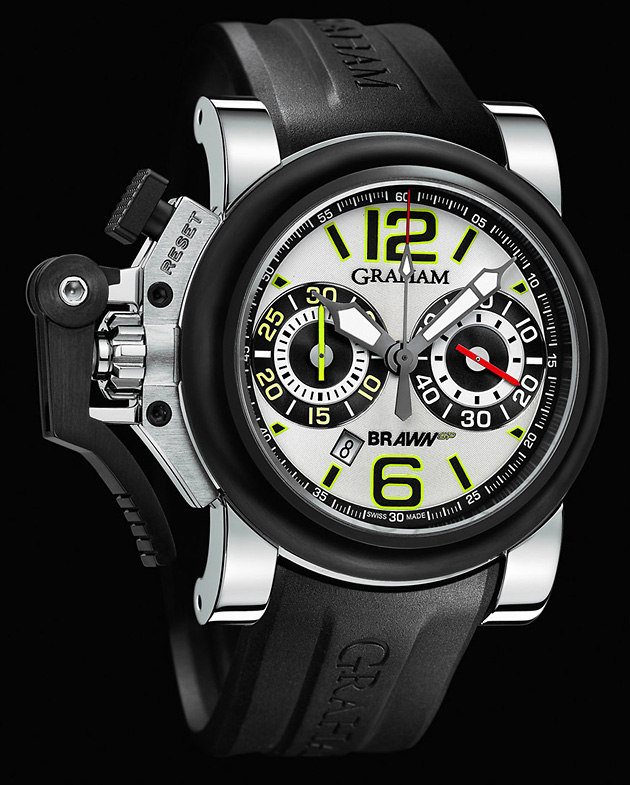Chronofighter Oversize G-BGP-001 White, лимитированные серии, Graham, Brawn GP, часы