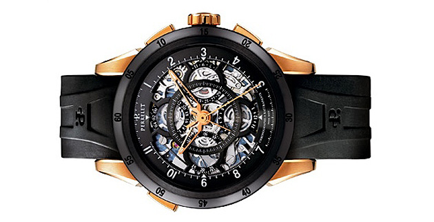 �������������� �����, Perrelet, Perrelet Semi-Skeletonized Split-Seconds Chronographs