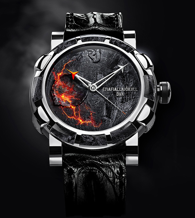 лимитированные серии, Romain Jerome, Romain Jerome Eyjafjallajökull DNA