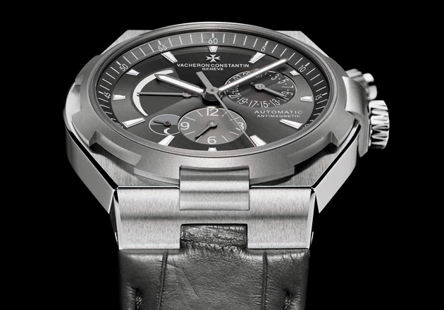 Vacheron Constantin Overseas Dual Time Self-Winding Steel and Titanium