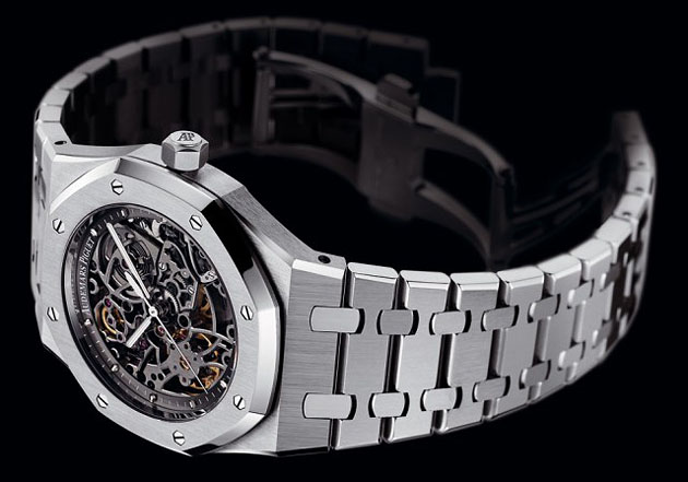 Audemars Piguet Openworked Extra-Thin Royal Oak Limited Edition Watch