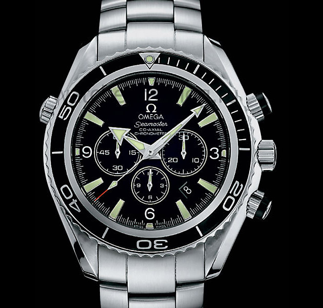 Omega Seamaster Planet Ocean Co-Axial Chronograph, часы, дайвинг