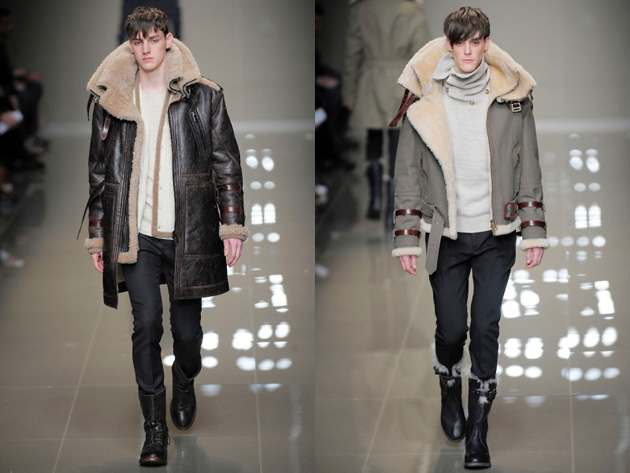 Burberry, fashion-������, ������ ����, Milano Moda Uomo, �����-���� 10/11