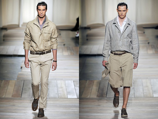 Ermenegildo Zegna, Milan Fashion Week, весна-лето 2010, fashion-показы, Milano Moda Uomo: игры света