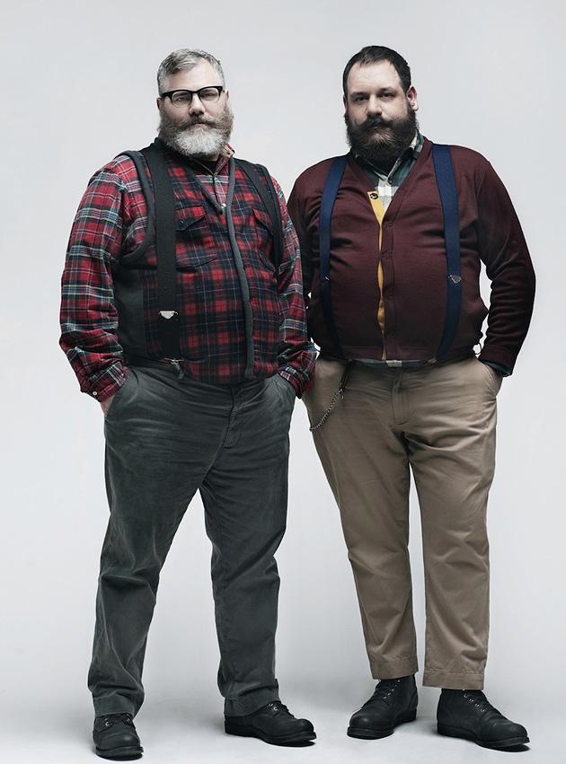 Фото стильно одетых мужчин полных