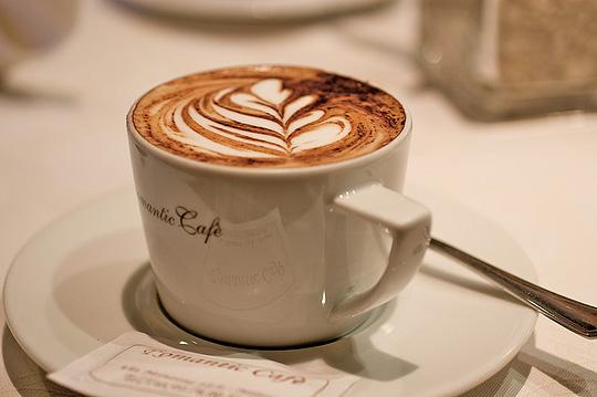 Открытка кофе капучино 533