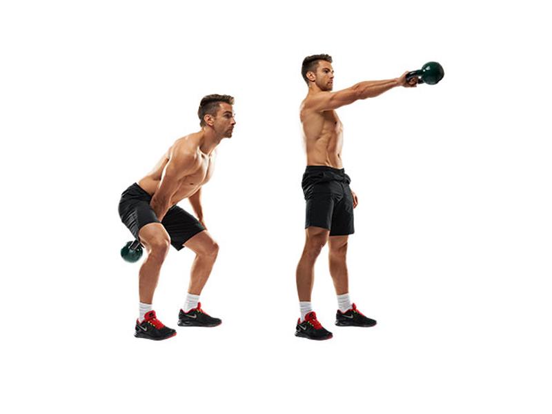 это символ фото упражнений с одной гирей речь
