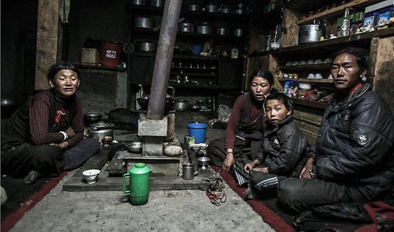 Как было устроено китайское многомужество (5 фото)