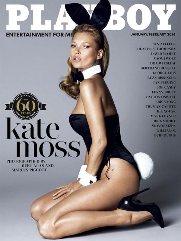 <p>Кейт Мосс украсила обложку знаменитого выпускаPlayboy, приуроченного к 60-летнему юбилею журнала. За разработку и съемку ответственны специалисты студии Mert & Marcus.</p>