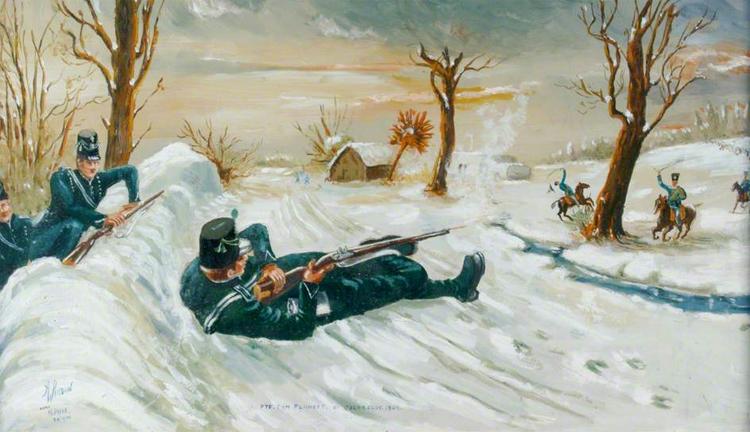 """<p style=""""text-align: center;""""><strong>Томас Планкетт</strong></p> <p><strong>Всего два выстрела</strong> привели рядового солдата британской армии Томаса Планкетта в разряд лучшего снайпера своего времени. В 1809 году состоялось сражение у Монро. Томас, как и все его сослуживцы, был вооружен мушкетом «Браун Бесс». Полевых занятий хватало солдатам для того, чтобы поразить врага на расстоянии в 50 метров. Если, конечно, ветер был не слишком силен. Томас Планкетт, хорошенько прицелившись, сбил с коня французского генерала на дистанции в 600 метров.<br /> <strong>Выстрел можно было</strong> бы объяснить невероятной удачей, магнитными полями и происками инопланетян. Вероятнее всего, так бы и поступили соратники стрелка, оправившись от удивления. Однако, здесь же Томас продемонстрировал свою вторую добродетель: честолюбие. Он спокойно перезарядил ружье и пристрелил генеральского адьютанта — на тех же 600-а метрах.</p>"""