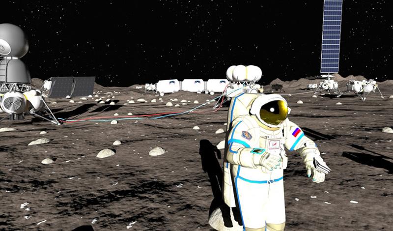 Как Луна перестала быть мечтой фантастов (13 фото)