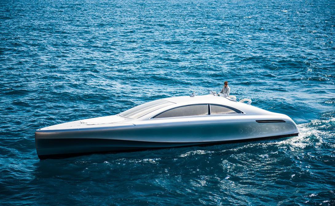 Яхта от Mercedes