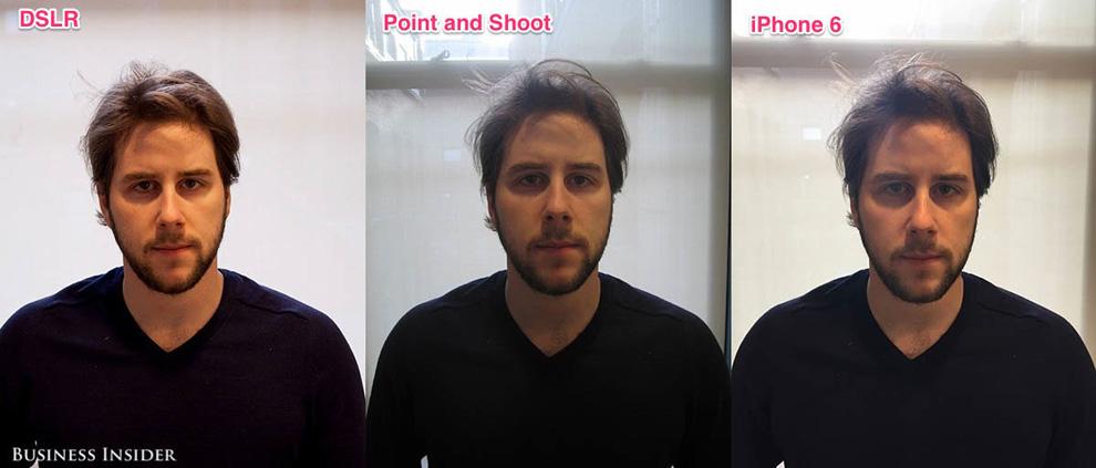 подробно расскажет сравнение камер смартфонов и фотоаппаратов сделать фото планшет