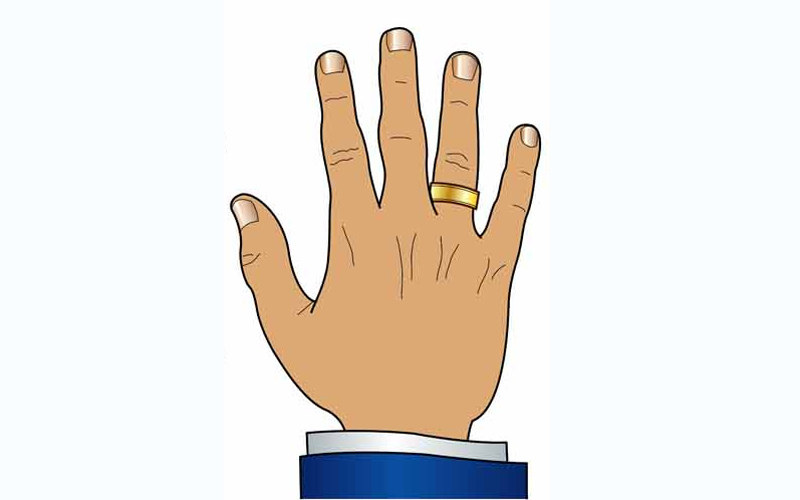 О чем говорят украшения на пальцах (5 фото)