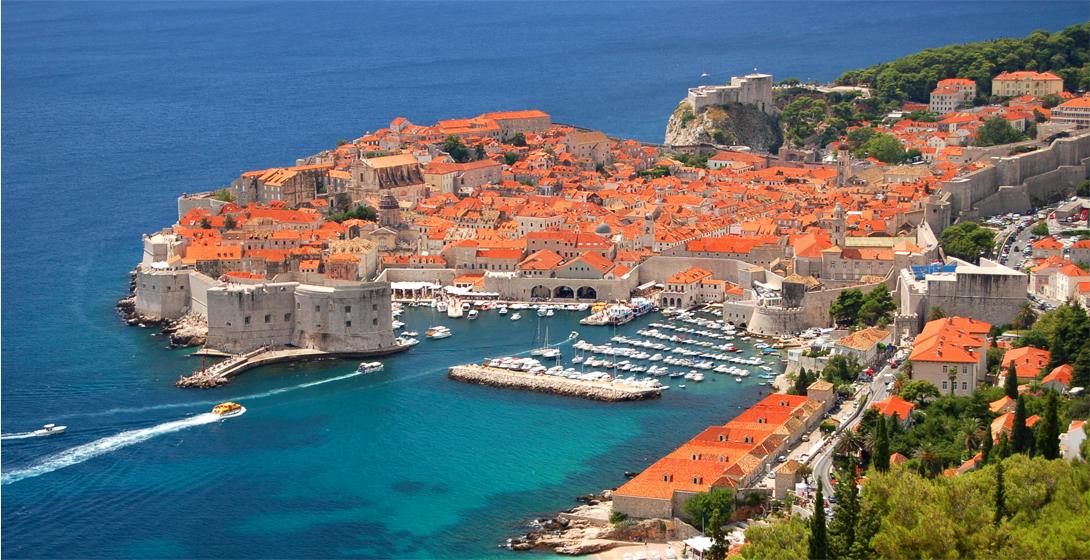 Королевская гавань ( Дубровник, Хорватия)