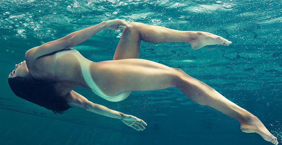 Nude nude swimming women photos uses dildo after